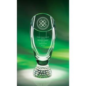 Profile Cup Crystal Golf Award (Large)