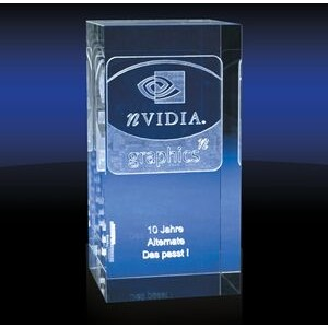 Pillar Slim Rectangular Award (Large)