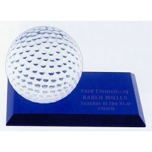 "Golf Desk Award - 6""x3""x3-1/2"""