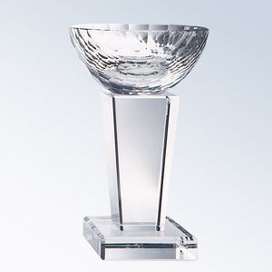 "Medium Crystal Glory Trophy (5""x8-1/2"")"