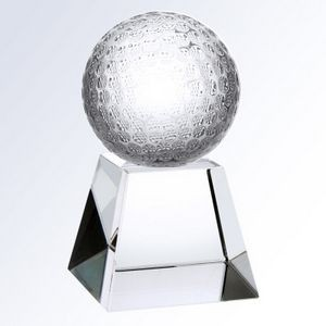 "Crystal Championship Golf Trophy, X-Small (2-3/8""x4"")"