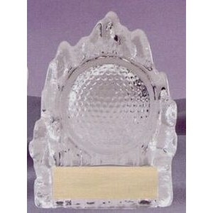 Sculpted Glass Award - Golf Glass Iceberg