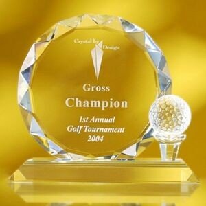 "6 3/8"" Golf Trophy Award"