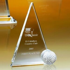 "8 1/2"" Peak Golf Trophy"