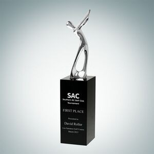 Metal Golfer Champion Trophy (Small)