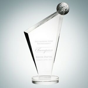 Conception Golf Optical Crystal Award