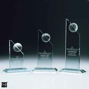 Jade Golf Towers Crystal Award - Discontinued